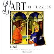 Cover of: Art en puzzle Noël