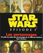 Cover of: Les personnages