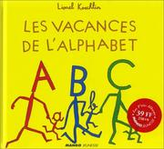 Cover of: Les vacances de l'alphabet