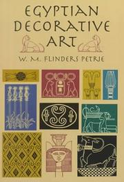 Cover of: Egyptian decorative art: a course of lectures delivered at the Royal Institution.