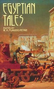 Cover of: Egyptian Tales