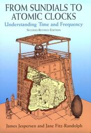 Cover of: From sundials to atomic clocks