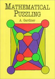 Cover of: Mathematical puzzling