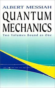 Cover of: Mécanique quantique
