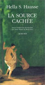Cover of: La source cachée