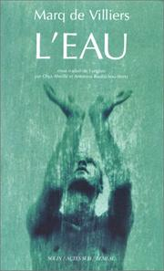 Cover of: L'eau