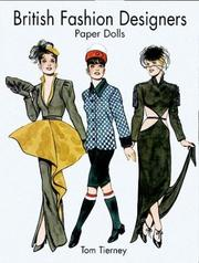 Cover of: British Fashion Designers Paper Dolls