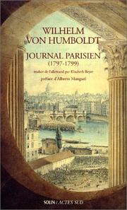 Cover of: Journal parisien (1797-1799)