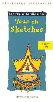 Cover of: Tous en sketches