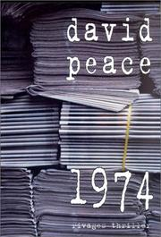 Cover of: 1974