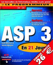 Cover of: ASP 3 en 21 jours