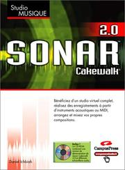 Cover of: Sonar Cakewalk - 1 CD-ROM