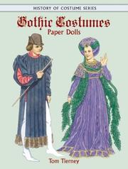 Cover of: Gothic Costumes Paper Dolls (History of Costume)