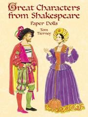 Cover of: Great Characters from Shakespeare Paper Dolls