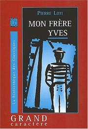 Cover of: Mon fre  re Yves