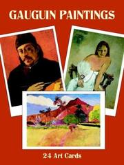 Cover of: Gauguin Paintings