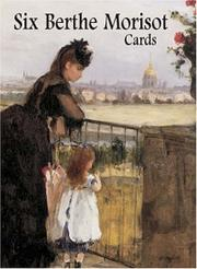 Cover of: Six Berthe Morisot Cards (Small-Format Card Books)