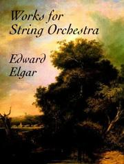 Cover of: Works for String Orchestra