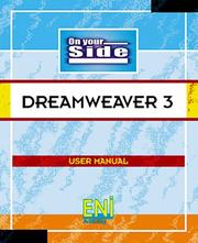 Cover of: Dreamweaver 3 (On Your Side) | Eni Publishing Ltd
