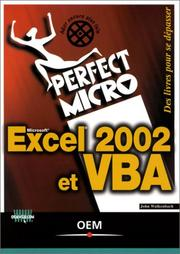 Cover of: Excel 2002 et VBA