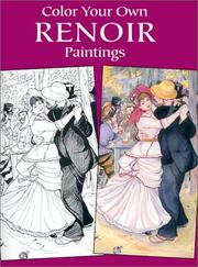 Cover of: Color Your Own Renoir Paintings