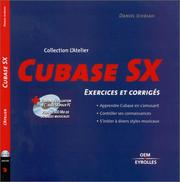 Cover of: Cubase SX