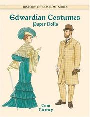 Cover of: Edwardian Costumes Paper Dolls (History of Costume)