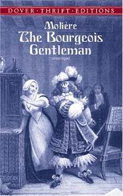 Cover of: Bourgeois gentilhomme