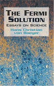 Cover of: The Fermi Solution