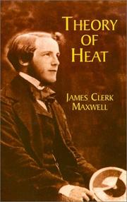 Cover of: Theory of heat