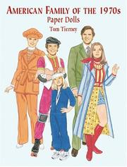 Cover of: American Family of the 1970s Paper Dolls
