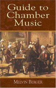 Cover of: Guide to chamber music