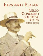 Cover of: Cello Concerto in E Minor in Full Score