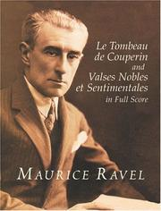 Cover of: Le Tombeau de Couperin and Valses Nobles et Sentimentales in Full Score