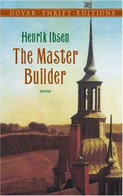 Cover of: Master Builder | Henrik Ibsen