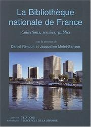 Cover of: La Bibliothèque nationale de France