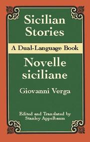 Cover of: Sicilian Stories (Dual-Language) (Dual-Language Book)