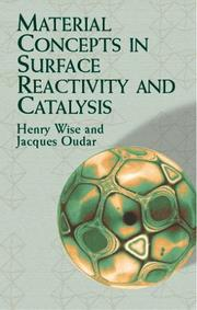 Cover of: Material concepts in surface reactivity and catalysis | Henry Wise
