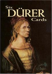 Cover of: Six Durer Cards (Small-Format Card Books)