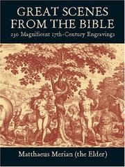 Cover of: Great Scenes from the Bible | Matthaeus Merian (the Elder)