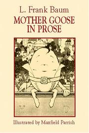 Cover of: Mother Goose in prose