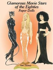 Cover of: Glamorous Movie Stars of the Eighties Paper Dolls