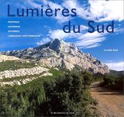 Cover of: Lumières de sud