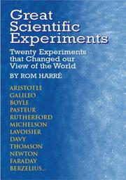 Cover of: Great Scientific Experiments | Rom Harre