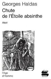 Cover of: Chute de l'étoile absinthe ps196