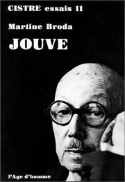 Cover of: Pierre-Jean Jouve