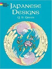 Cover of: Japanese Designs Coloring Book | Y. S. Green