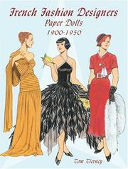 Cover of: French Fashion Designers Paper Dolls