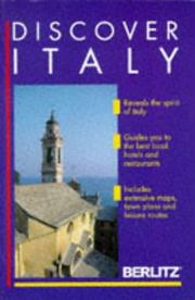 Cover of: Discover Italy | Jack Altman, Jason Best