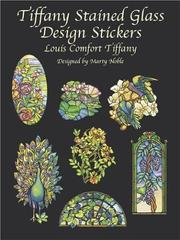 Cover of: Tiffany Stained Glass Design Stickers